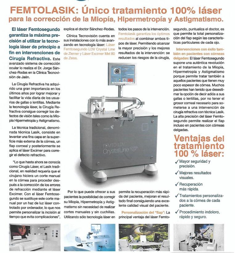 laser femtosegundo informacion