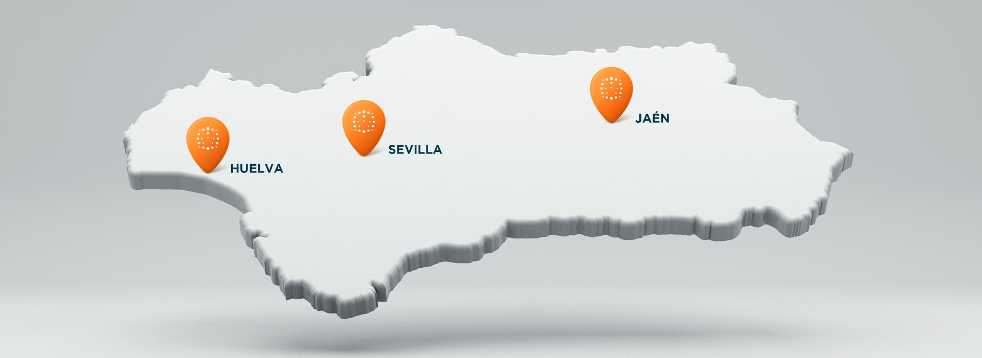mapa de clinicas oftalmologicas sevilla